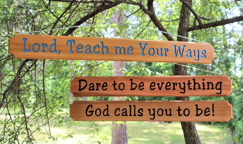 P-099/100  Custom Carved Cedar Signs, Christian, scripture, encouragement, Bible