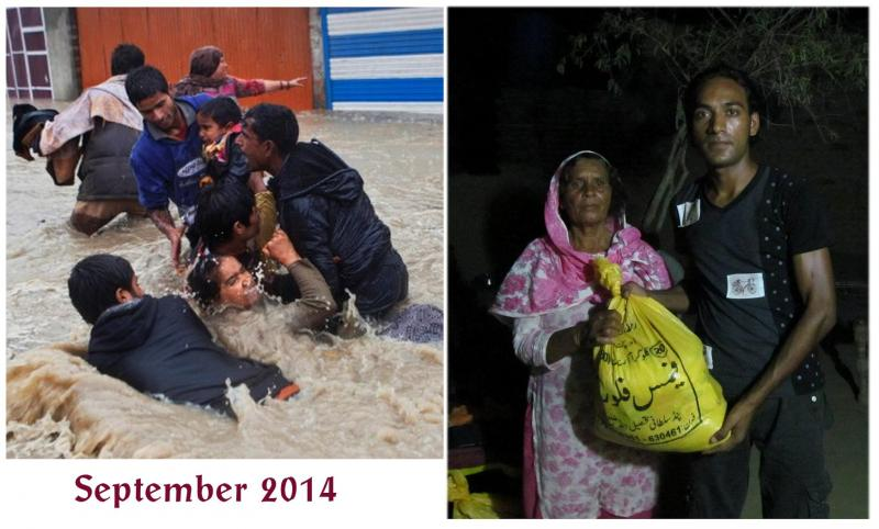 Flooding and Relief among Christians in Pakistan. Evangelism in Islamic country.