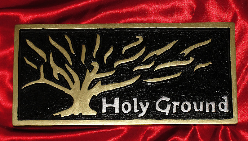 Holy Ground - Burning Bush
