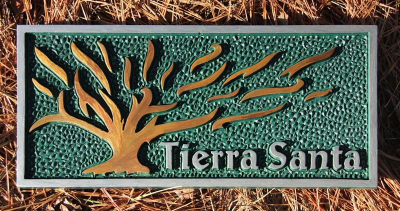 Tierra Santa Talla madera Exodo 3:5 Holy Ground Moses wood carving